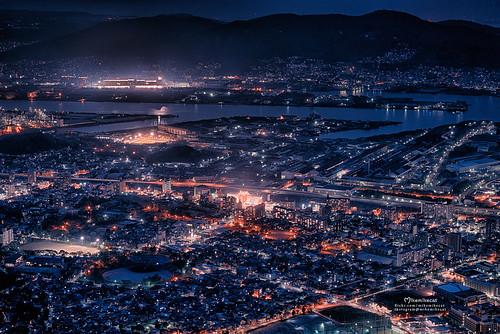 皿倉山 Mount Sarakura