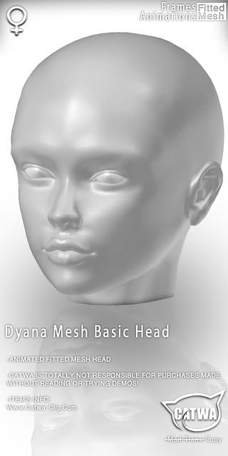 CATWA HEAD Dyana