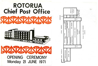 Rotorua Chief Post Office opening ceremony 1971