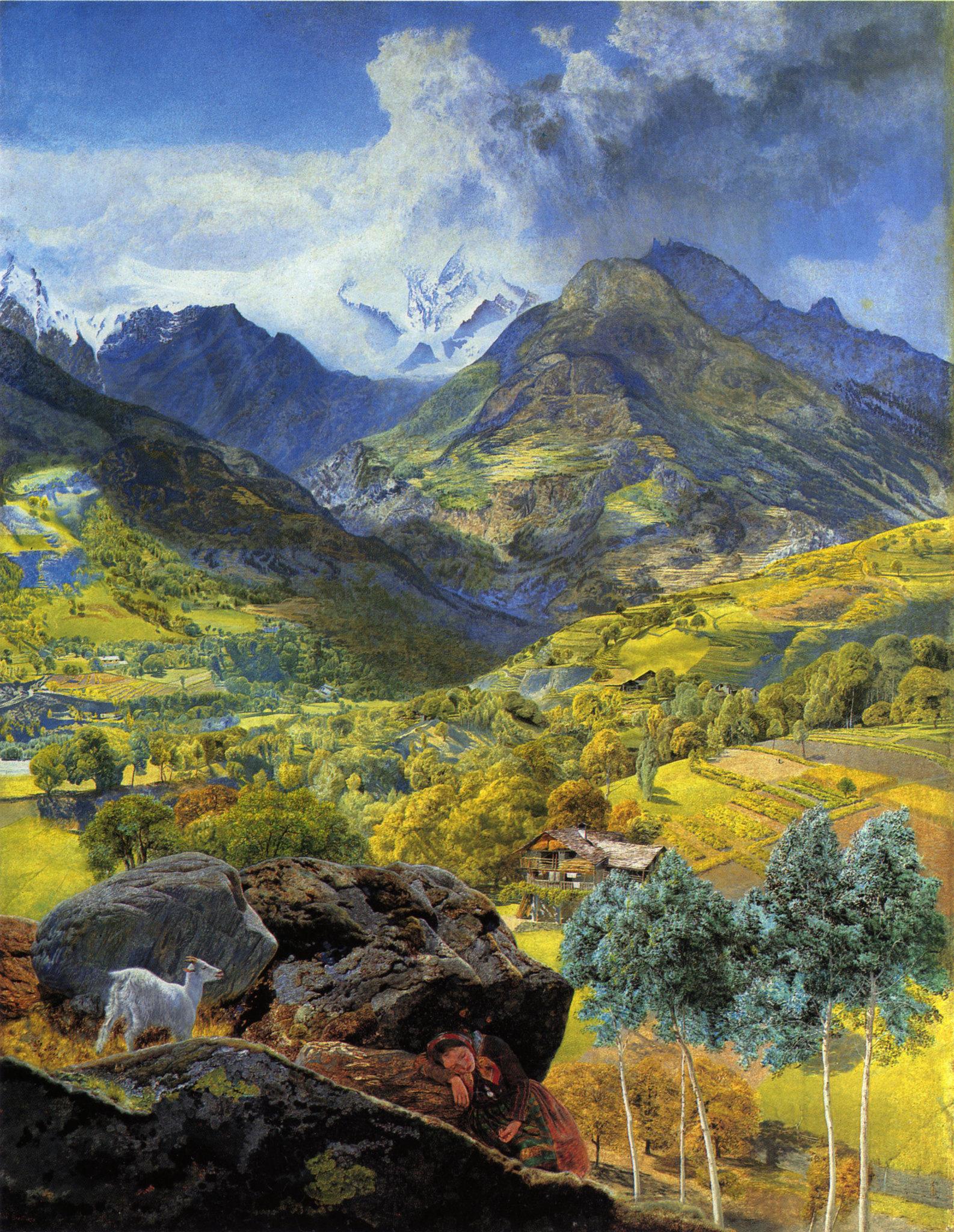 John Brett Val d'Aosta 1858