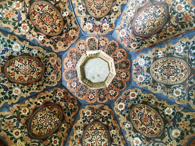 Ceiling at Dar si Said Museum