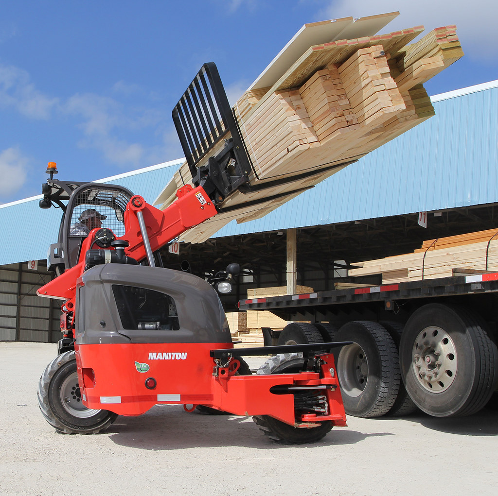 Manitou TMT 55 HT - Truck Mounted Forklifts - Telescopic