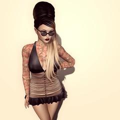 Mesh Body Addicts Bi-Monthly, 'Akira' Dress by Hilly Haalan
