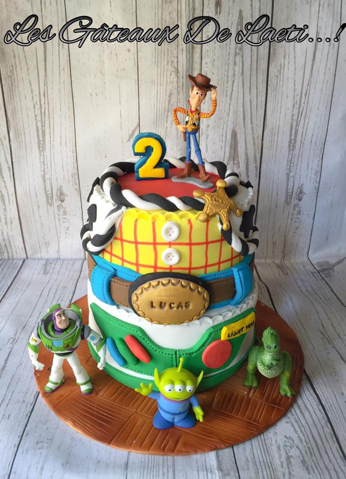 Toy Story Inspired Cake by Laetitia Raccah of Les gâteaux de laeti