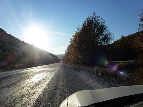 In Turkey roads are long and straight, but sealed roads are not numerous, However the country is so immense that it is still easy to get on the road less travelled.