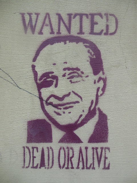 "Berlusconi: ""Wanted Dead or Alive"" Torino April 2013"