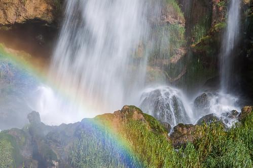 morning favorite rainbow colorado unitedstates rifle waterfalls creeks waterscapes riflefallsstatepark