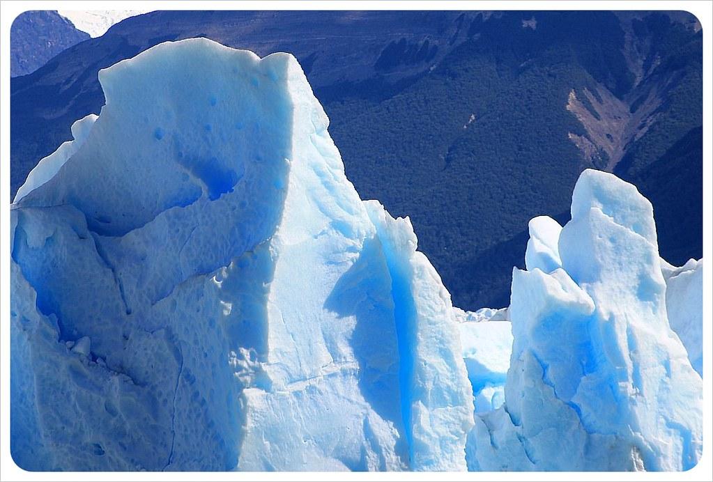 perito moreno glacier blue ice