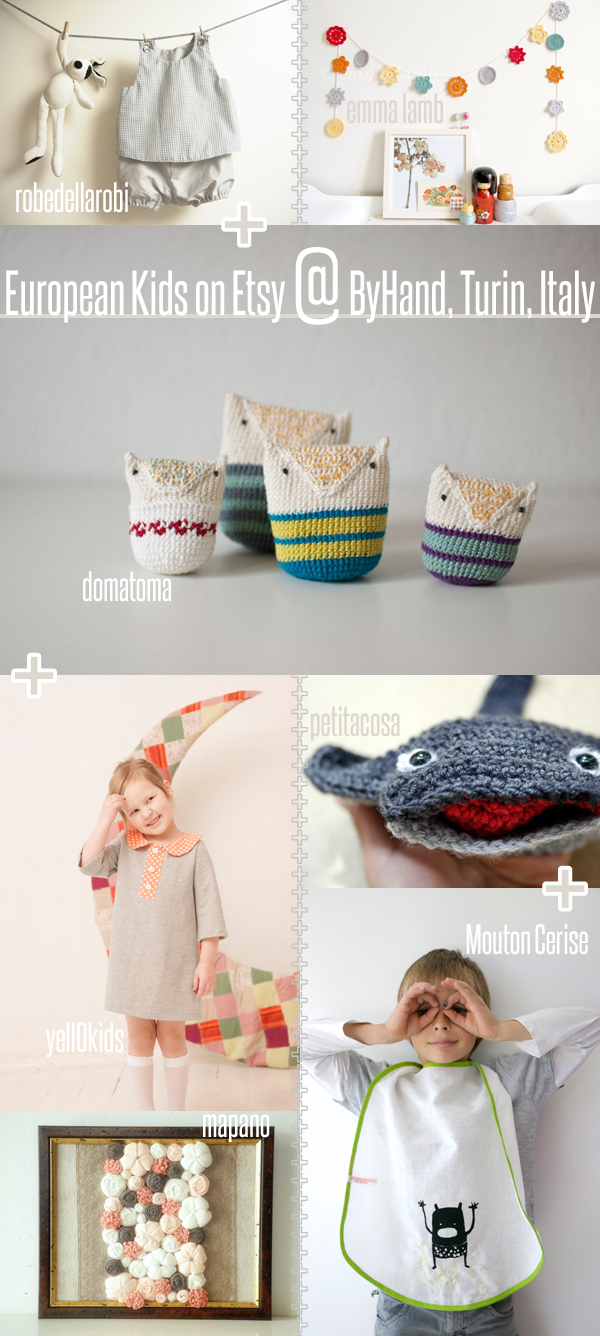 European Kids on Etsy @ ByHand, Turin, Italy | Emma Lamb