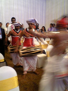 Sri Lankan drummers at the opening of conference (Photo by Tom Worthington, CC-By 3.0 2013)