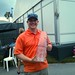 Adam Lowe with the 2013 TPC Trophy