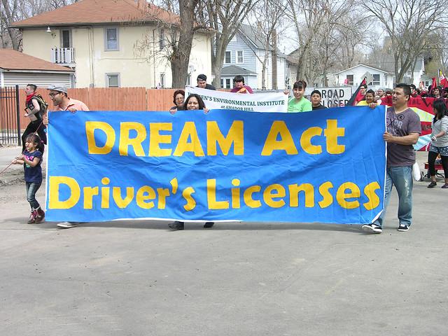 MayDay 2013 free speech dream act