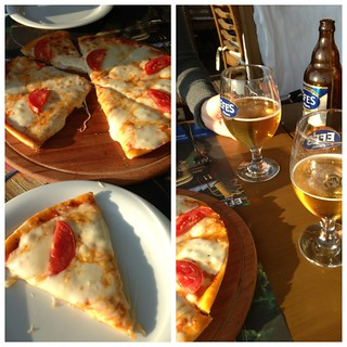 Izmir Boardwalk Pizza & Efes Beer