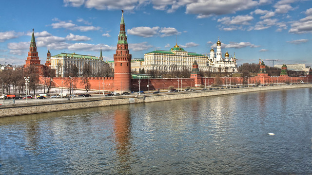 0351 - Russia, Moscow, Kremlin HDR