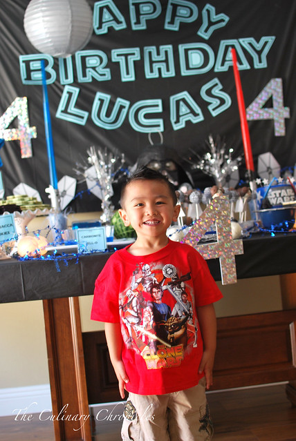 Lucas' 4th Birthday