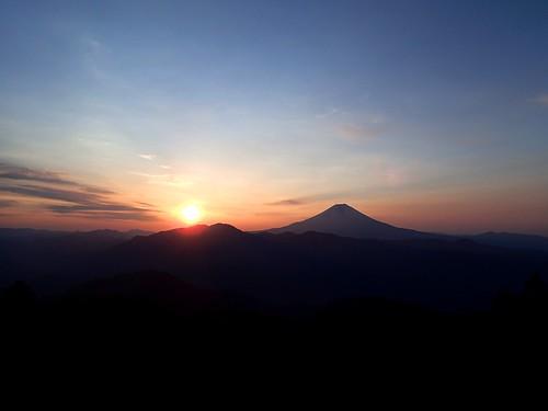 Mt Fuji with Sunrise