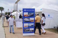 Les empreses de lloguer d'embarcacions també han estat presents al Festival del Mar de Badalona. Crèdit foto: Albert Bagué.