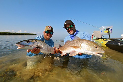 bonefish and redfish