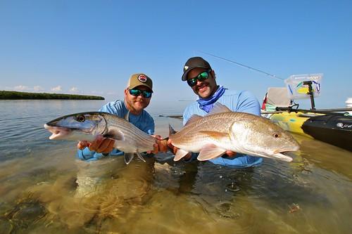 bonefish and redfish