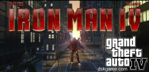 Mod Iron Man IV para GTA