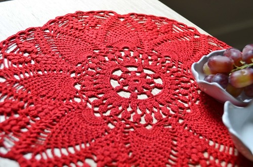 'Morning Tea' Doily by Ocie Jordan
