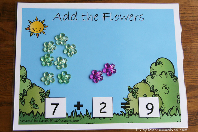 Add the Flowers Layout