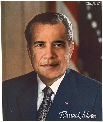 BARRACK NIXON by WilliamBanzai7/Colonel Flick