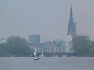 Lago Alster (Hamburgo)