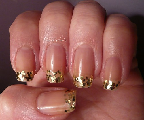Gold French Tip 2