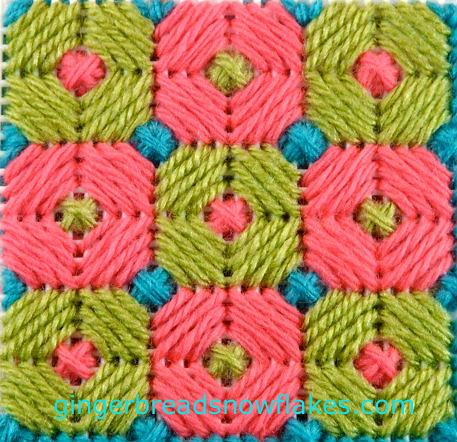Brighton stitch sampler