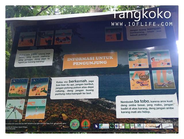 informasi pengunjung  tangkoko