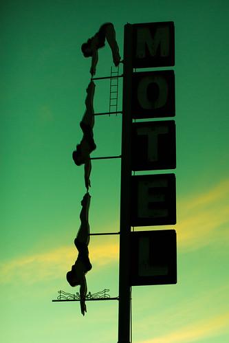 sunset arizona usa neon unitedstates unitedstatesofamerica motel diver mesa fav10 starlitemotel