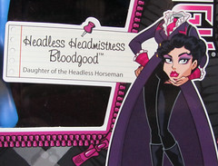 Headless Headmistress Bloodgood and Nightmare