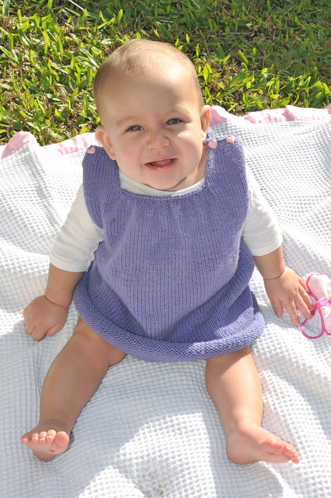 purple knit knitted golden child dress