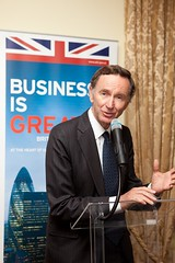 Lord Green speaking at 6th edition of UKTI Business Awards reception to Portuguese investors in the UK
