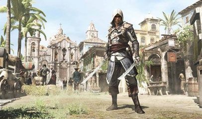 Link to This is What Assassin's Creed IV Really Looks Like on PlayStation 4