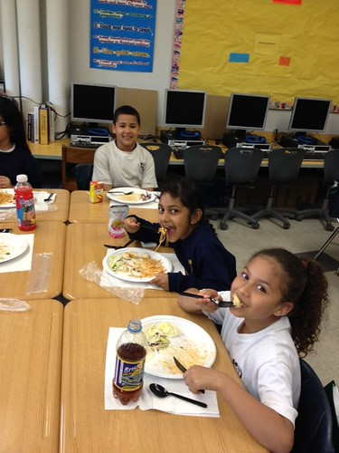 Student Council of Sch 21 & 22 @ 31 sponsored Pasta for Pennies