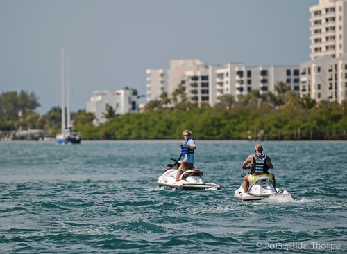 jet skis- Florida by Alida's Photos