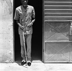 Blind Man ... Gervais Tibora M´Po from the Betammaribe Tribe, Kounadogou, Benin