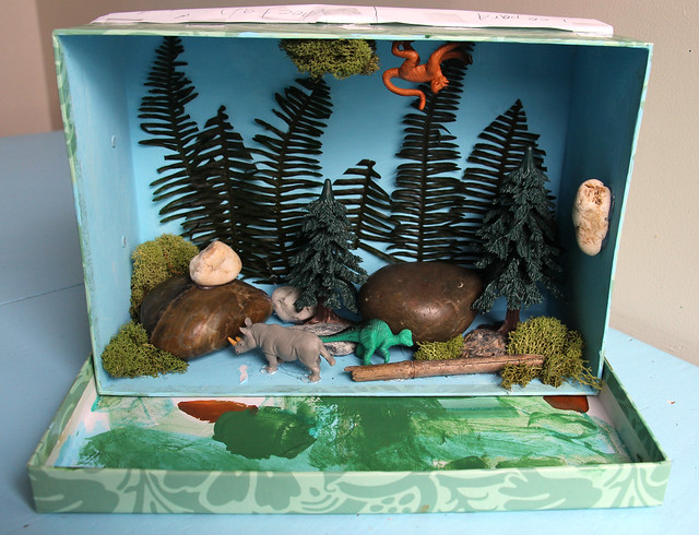 Jungle Diorama - Augie's pared down