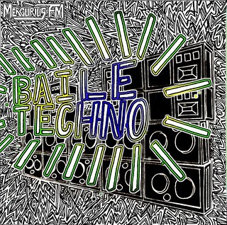 MERCURIUS FM BAILE TECHNO ART BY MELISSABDRAWINGS