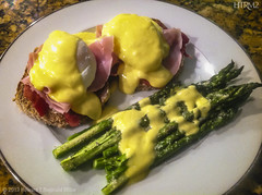 Eggs Benedict at Niecy's in Upper Marlboro, 2013