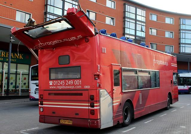 2001 Regal Busways Alexander Dennis Trident 1301 X298NNO