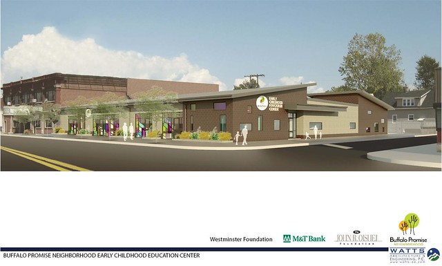 Childhood Center Rendering