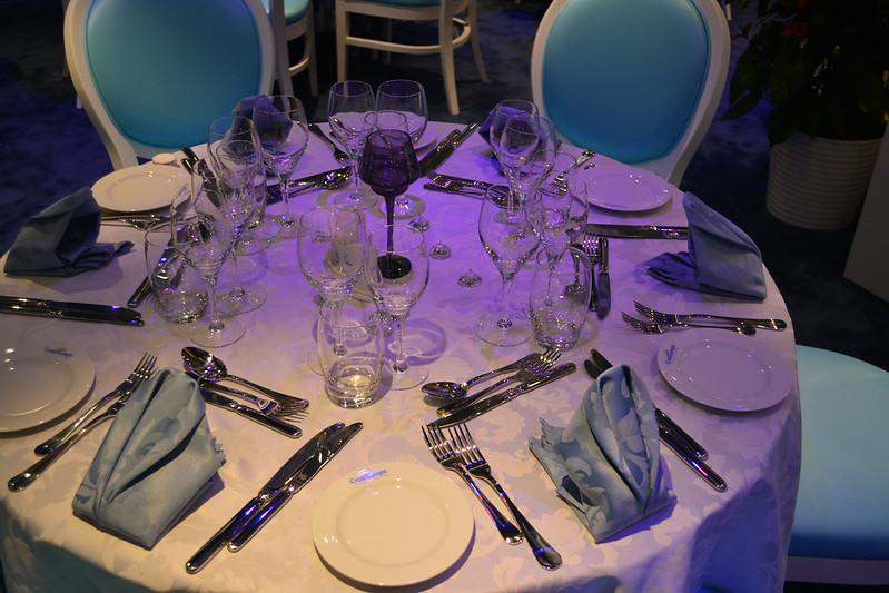 Salle à manger - A bord du MS CYRANO DE BERGERAC - Croisieurope - Bordeaux - 16 mai 2013