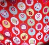 Closeup of my ladybug skirt, worn on MMM13 Day 17