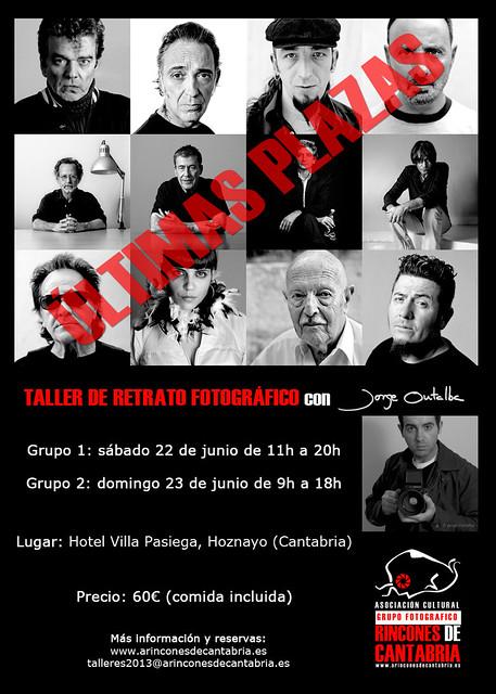 Taller de Retrato Fotográfico con Jorge Ontalba