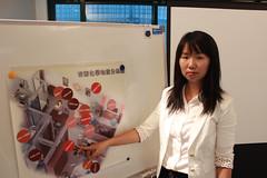 綠和平污染防治專案主任賴倩如(圖片來源:台灣綠色和平組織)