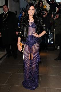 Jessie J Sheer Dress Celebrity Style Women's Fashion