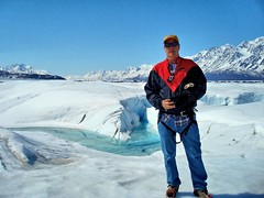 Tim on Knik